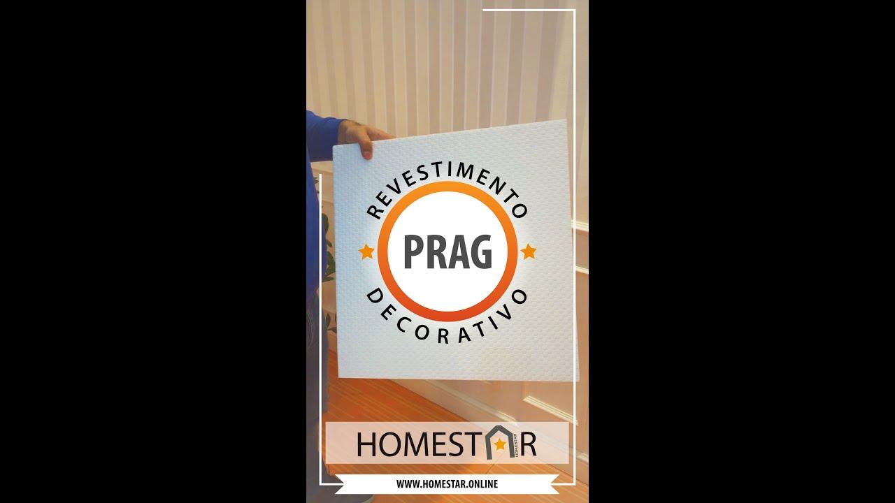 Painéis Revestimento Decorativo para Parede HOMESTAR PRAG em poliestireno