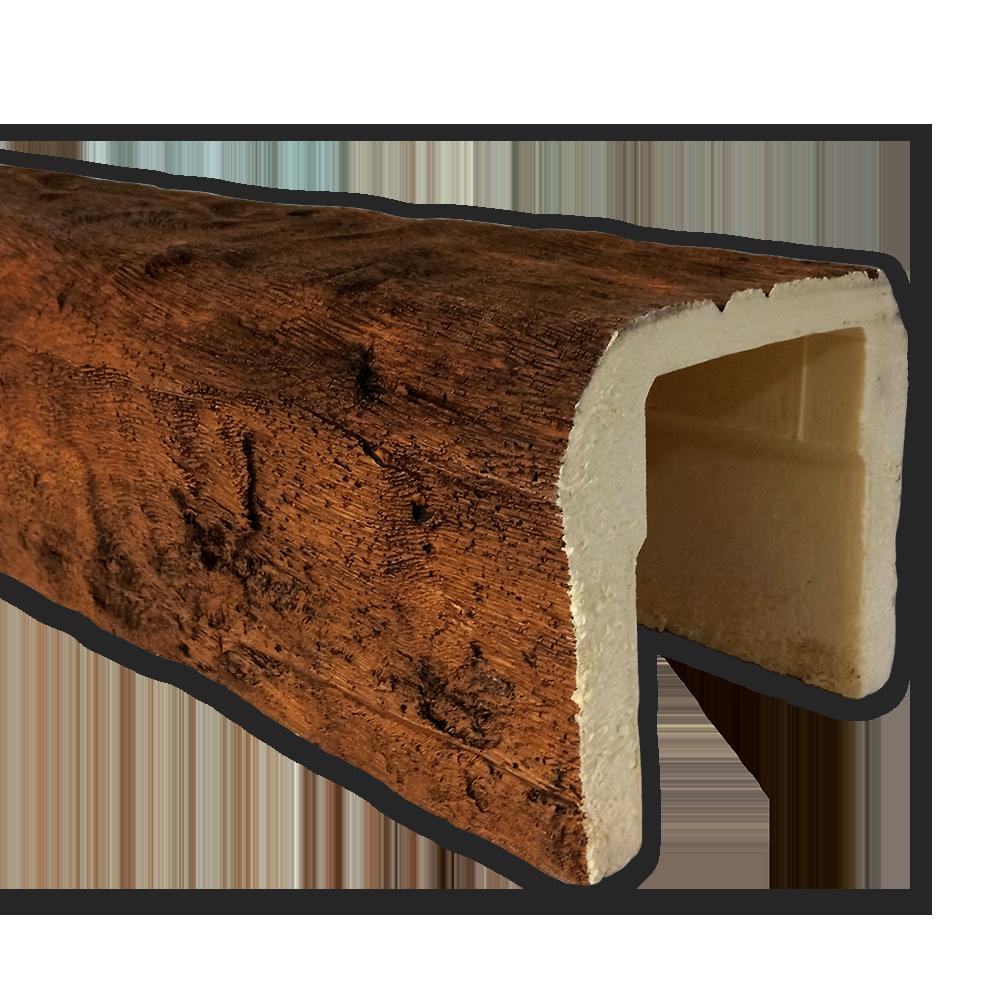 viga imitacao madeira falsa rustica poliuretano 19x17