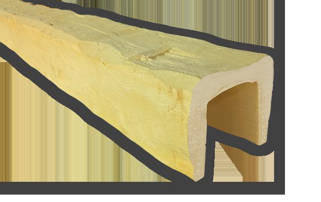 viga imitacao madeira falsa incolor poliuretano 12x12