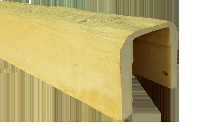 viga imitacao madeira falsa incolor poliuretano 19x17