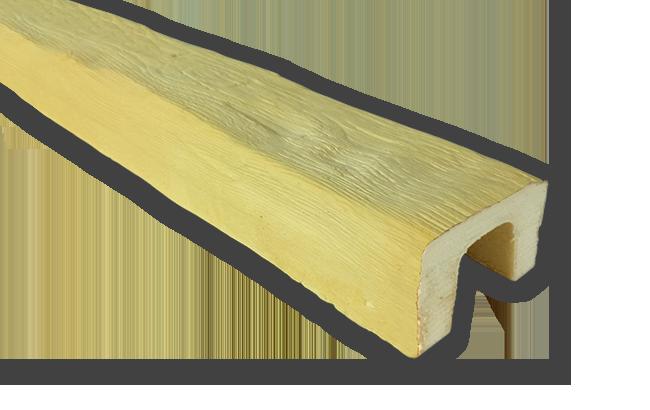 viga imitacao madeira falsa incolor poliuretano 9x6