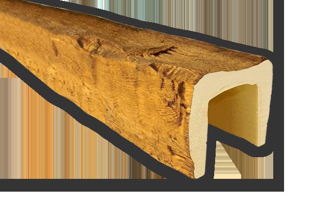 viga imitacao madeira falsa moderna poliuretano 12x12